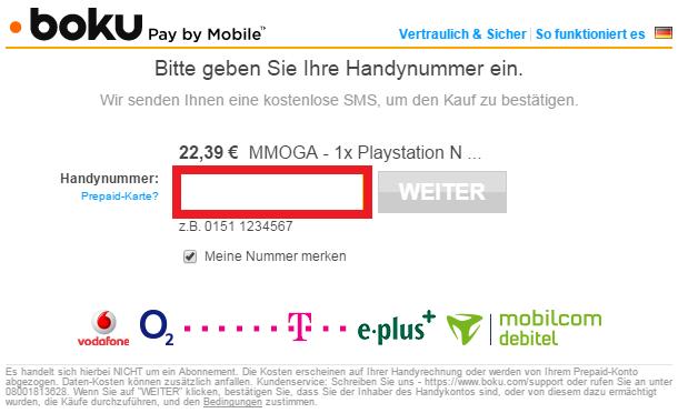 boku mobiles bezahlen