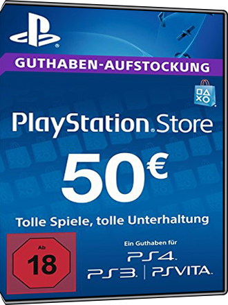 PSN Card 50 Euro [DE] - Playstation Network Guthaben Screenshot