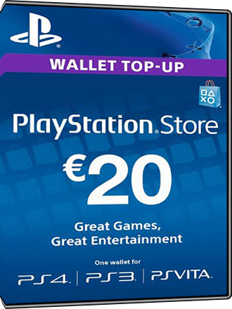 Playstation Network Card PSN Key 20 Euro [Österreich] Screenshot