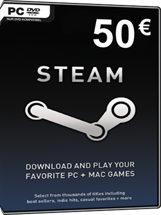 Steam Gamecard 50 EUR