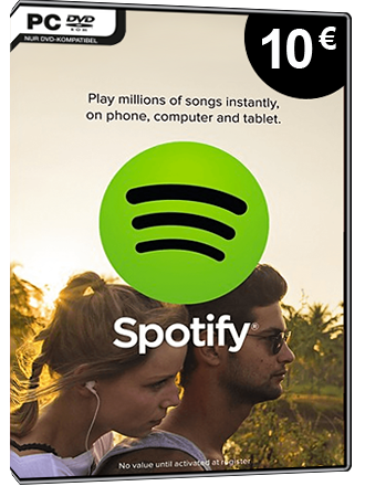 Spotify Gift Card 10 EUR [DE] Screenshot