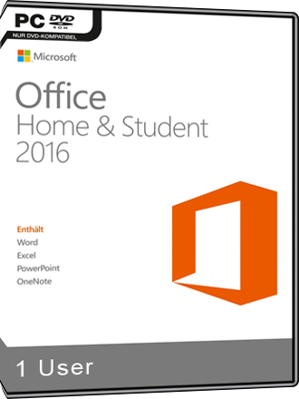 microsoft office 2016 home and student kaufen mmoga. Black Bedroom Furniture Sets. Home Design Ideas
