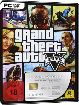Grand Theft Auto V + GTA Online Great White Shark Cash Card (1,25 Mio $) Screenshot