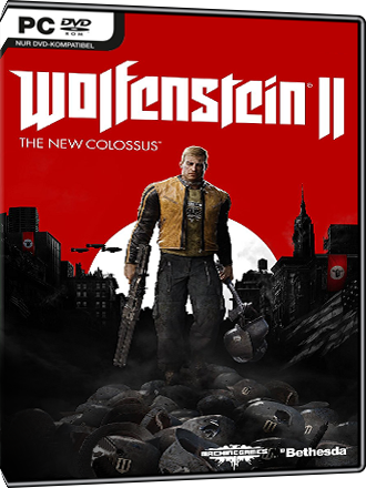 Wolfenstein II - The New Colossus DE/AT Key Screenshot