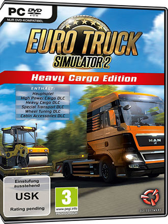 euro truck simulator 2 heavy cargo edition kaufen ets2. Black Bedroom Furniture Sets. Home Design Ideas