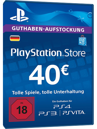psn card kaufen 40 euro de playstation network mmoga. Black Bedroom Furniture Sets. Home Design Ideas