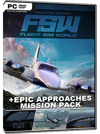 Flight Sim World + Epic Approaches Mission Pack Screenshot