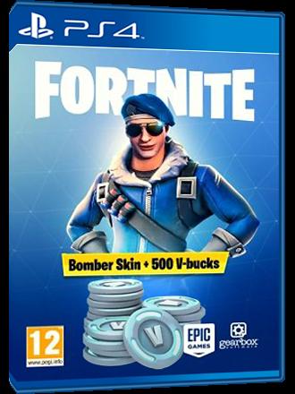 Fortnite Bomber Skin 500 V Bucks Ps4 Code Eu Mmoga