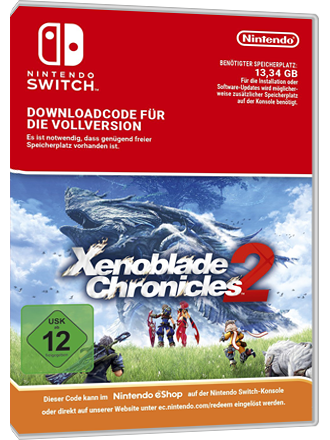 Xenoblade Chronicles 2 - Nintendo Switch Download Code Screenshot