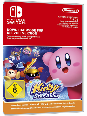 Kirby Star AllieNintendo Switch