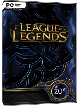 League of Legends - Riot Points Card 20 EUR - EU West Screenshot