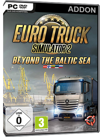 euro truck simulator 2 beyond the baltic sea mmoga. Black Bedroom Furniture Sets. Home Design Ideas