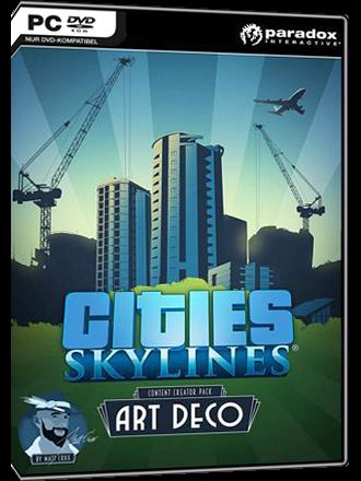 Cities Skylines - Art Deco Content Creator Pack (DLC)