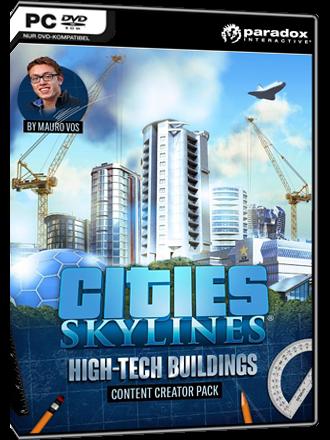 Cities Skylines - High Tech Buildings Content Creator Pack (DLC)