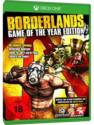 Borderlands - Game of the Year Edition (Xbox One Download Code) Screenshot