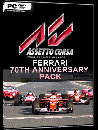 Assetto Corsa - Ferrari 70th Anniversary Pack (DLC)