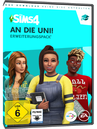 Die Sims 4 - An die Uni! (DLC) Screenshot