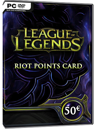 League of Legends - Riot Points Card 50 EUR - EU West Screenshot