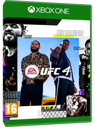 UFC 4 - Xbox One Download Code Screenshot