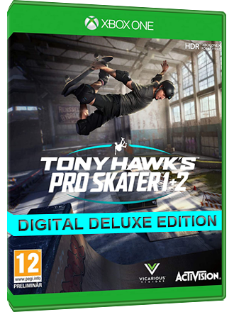 Tony Hawk's Pro Skater 1 + 2 - Digital Deluxe Edition (Xbox One Download Code) - EU Key Screenshot