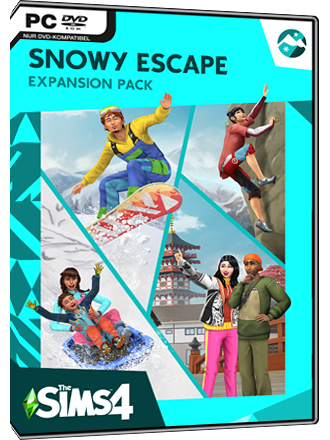 Die Sims 4 - Ab ins Schneeparadies DLC (Snowy Escape) Screenshot