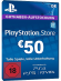 PSN Card 50 Euro [DE] - Playstation Network Guthaben