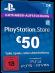 PSN Card 50 Euro [DE] - Playstation Network Guthaben