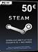 Steam Game Card 50 EUR