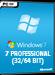Windows 7 Professional (32/64 Bit)