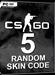 CSGO - Random Skin Code - 5er Pack
