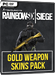 Rainbow Six Siege - Gold Weapons Skin Pack (DLC)