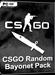 CSGO - Random Bajonett Skin