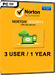 Norton Security (3 User / 1 Jahr)