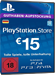 PSN Card 15 Euro [DE] - Playstation Network Guthaben