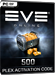 EVE Online - 500 PLEX Activation Code