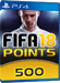 500 FIFA Points - FIFA 18 PS4 ÖSTERREICH