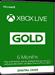 Xbox Live Gold - 6 Monate Mitgliedschaft [EU]