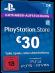 PSN Card 30 Euro [DE] - Playstation Network Guthaben