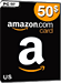 Amazon Card US 50 Dollar