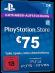 PSN Card 75 Euro [DE] - Playstation Network Guthaben