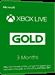 Xbox Live Gold - 3 Monate Mitgliedschaft