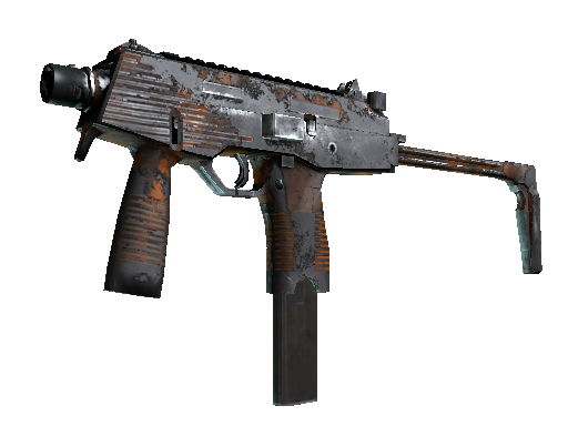 MP9 | Orange Peel (Kampfspuren)