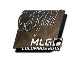Aufkleber | GeT_RiGhT | MLG Columbus 2016