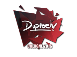 Aufkleber | dupreeh | Cologne 2016