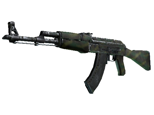 AK-47 | Jungle Spray (Kampfspuren)