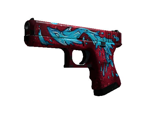 Glock-18 | Water Elemental (Einsatzerprobt)