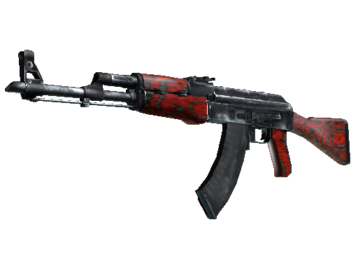 AK-47 | Red Laminate (Fabrikneu)