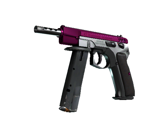 CZ75-Auto (StatTrak™) | The Fuschia Is Now (Minimale Gebrauchsspuren)