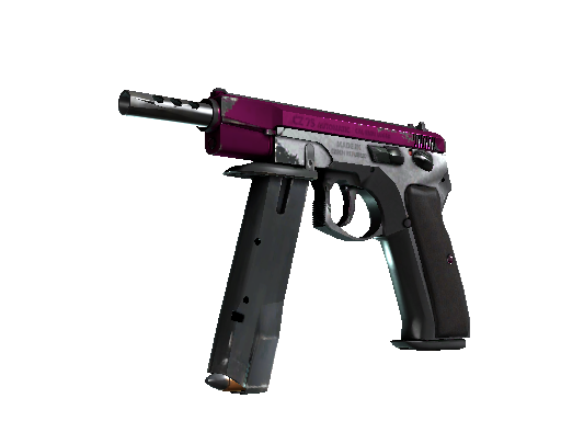 CZ75-Auto (StatTrak™) | The Fuschia Is Now (Abgenutzt)
