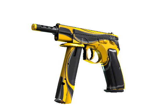 CZ75-Auto | Yellow Jacket (Fabrikneu)